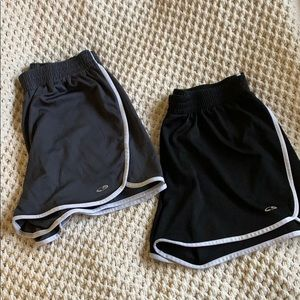 Running shorts combo